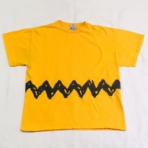 Vintage Classic Charlie Brown Short Sleeve T-Shirt